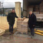 Προϊόντα της ELBISCO για το Κοινωνικό Παντοπωλείο του Δήμου Χαλκιδέων