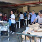 Διανομή ειδών καθαριότητας και ευπρεπισμού προς τους δικαιούχους του Ταμείου Ευρωπαϊκής Βοήθειας Απόρων (ΤΕΒΑ).