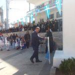Κατάθεση Στεφάνου στον Εορτασμό της 25ης Μαρτίου στα Λουκίσια από τον Πρόεδρο του ΔΟΠΠΑΧ Σωτήρη Ανυφαντή